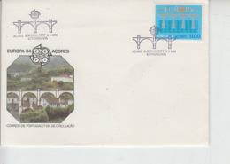 AZORRE  1984 - FDC - Annullo Speciale - Ponte - Europa-CEPT
