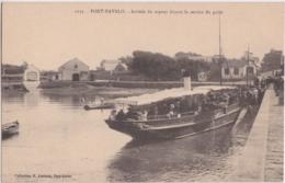 Bw - Cpa PORT NAVALO - Arrivée Du Vapeur Faisant Le Service Du Golfe - Francia