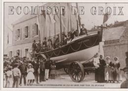 Bw - Carte Moderne Ecomusée De GROIX (avec Le Canot De Sauvetage Rosalie Marchais) - Groix