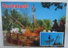 GARDALAND PETER PAN Parco Divertimenti Italia Cartolina Non Viaggiata - Disney