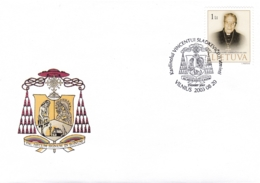 Litauen, 2003, 827,  FDC, Kardinal Vincentas Sladkevicius. - Lithuania