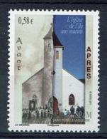 Saint Pierre And Miquelon, Catholic Church, Île-aux-Marins, 2011, MNH VF - Nuovi