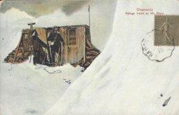 74 CHAMONIX MONT BLANC OBSERVATOIRE JANSSEN AU SOMMET DU MONT BLANC CARTE COLORISEE  Editeur SERRUS - Chamonix-Mont-Blanc