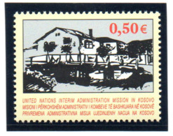 """(2WK-2) VEREINTE NATIONEN Im KOSOVO UNMIK Mi-Nr. 27  """"Kunst Im Kosovo"""", ** Postfrisch - Kosovo"""