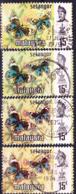 Malaiische Staaten V - Selangor - Schmetterling (Precis Orithya Wallacei) (MiNr: 110 4 Versch.) 1971+77 - Gest Used Obl - Selangor