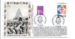 SECONDE GUERRE CONGRES COMBATTANTS DE L'UNION FRANCAISE à LE HAILLAN GIRONDE - Guerre Mondiale (Seconde)