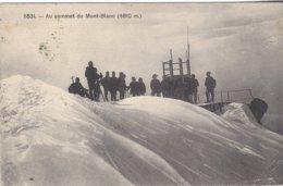 74 CHAMONIX MONT BLANC OBSERVATOIRE JANSSEN AU SOMMET DU MONT BLANC  Editeur PHOTOTYPIE 11831 - Chamonix-Mont-Blanc