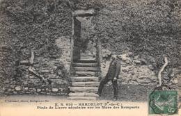 Thème   Gardes Ou Tambours De Ville. Le Château D'Hardelot 62   Et Son Garde.Lierre Sur Le Mur Des Remparts  (voir Scan) - Métiers