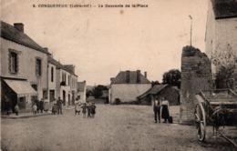 Conquereuil 44 - La Descente De La Place - édit Chapeau 9 - France