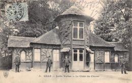 Thème   Gardes Ou Tambours De Ville. Lille 59  Jardin Vauban  Châlet Des Chèvres    (voir Scan) - Métiers