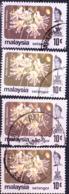 Malaiische Staaten V - Selangor - Durianbaum (Durio Zibethinus) (MiNr: 115 + 122) 1979+86 - Gest Used Obl - Selangor