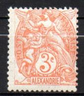 Col17  Colonie Alexandrie N° 75 Neuf X MH Cote 3,50€ - Neufs