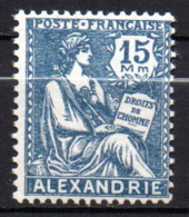 Col17  Colonie Alexandrie N° 76 Neuf X MH Cote 3,50€ - Neufs
