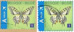 2013 - BELGIO / BELGIUM - FARFALLA / BUTTERFLY. USATO / USED. - Belgio