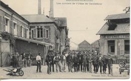 ASNIERES SUR OISE  Les Ouvriers De L'usine De Caoutchouc - Asnières-sur-Oise