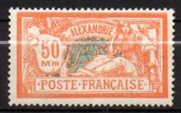 Col17  Colonie Alexandrie N° 78 Neuf X MH Cote 15,00€ - Neufs