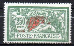 Col17  Colonie Alexandrie N° 80 Neuf X MH Cote 32,00€ - Neufs