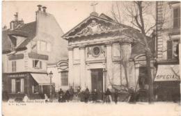Eglise Saint-Denys - Boulangerie Chaumat - GCA Paris 532 - Eglises