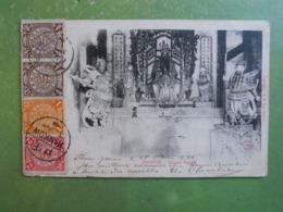 CPA CHINE HANKOW CHINESE TEMPLE 1904 TRES BON ETAT - China