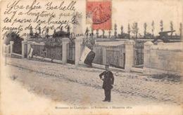 Thème   Gardes Ou Tambours De Ville. Monument De Champigny 94       (voir Scan) - Métiers