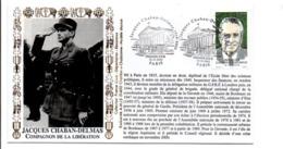 SECONDE GUERRE PERSONNAGES JACQUES CHABAN-DELMAS PARIS - WW2