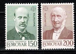 Foroyar 1980 EUROPA Yv. 47/48**, Mi 53/54**,  MNH - Islas Faeroes