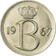 Monnaie, Belgique, 25 Centimes, 1967, Bruxelles, TTB, Copper-nickel, KM:153.1 - 1951-1993: Baudouin I