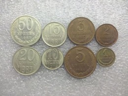 Russia - Soviet Union  : 1 - 50  Kopecks - Rusia