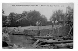 Usine Hydro - Electrique Maison LAMY Père Et Fils Rèfection De La Digue En 1906 - Industry