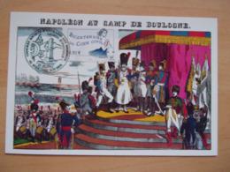 Timbre Bicentenaire Du Code Civil Napoléon Au Camp De Boulogne  Légion D'honneur 2004 - Napoleon