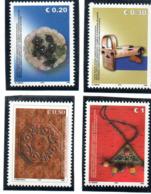 """(2WK-2) VEREINTE NATIONEN Im KOSOVO  UNMIK Mi-Nr. 31/34  """"Kunsthandwerk"""", ** Postfrisch - Kosovo"""
