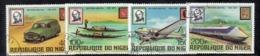 APR3053 - NIGER 1979 , Serie Michel N. 662/665  Usata  (2380A)  Rowland Hill - Niger (1960-...)