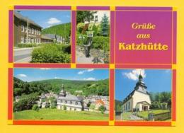 Xx01xx ★★ Grüße Aus Katzhütte - Mehrbildkarte - Duitsland