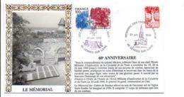 SECONDE GUERRE MEMORIAL DES COMBATTANTS DE LA LOIRE à GENNES SUR LOIRE MAINE ET LOIRE - Guerre Mondiale (Seconde)