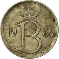 Monnaie, Belgique, 25 Centimes, 1966, Bruxelles, TB, Copper-nickel, KM:154.1 - 1951-1993: Baudouin I