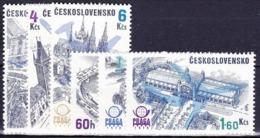 Tchécoslovaquie 1976 MI 2324-9 (Yv PA 72-7), (MNH)** - Airmail