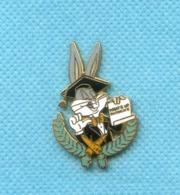 Superbe Pins Bugs Bunny Egf Demons Et Merveilles K344 - Fumetti