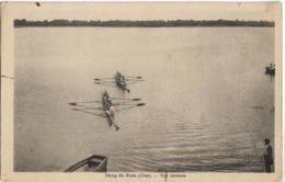 D18 - ARGENT ? - ETANG DU PUITS - VUE CENTRALE - 5 Personnes Dans Chaque Aviron - Barques - Argent-sur-Sauldre