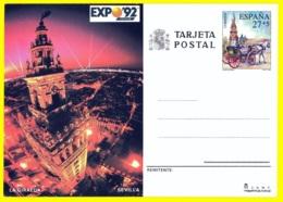 España. Spain. 1992. Postal Stationery. Entero Postal. Exposicion Universal De Sevilla. EXPO '92 - Enteros Postales