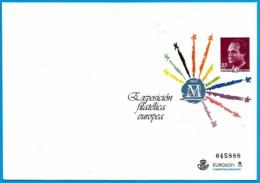 España. Spain. 1992. Postal Stationery. Entero Postal. Exposicion Filatelica Europea. Madrid - Enteros Postales