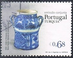 2009 - PORTOGALLO / PORTUGAL - ARTIGIANATO / CRAFT - JOINT ISSUE WITH TURKEY. USATO / USED. - Emissioni Congiunte
