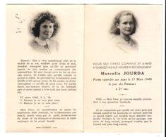 Image Mortuaire Marcelle Jourda - Devotion Images