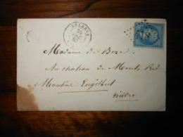 Enveloppe GC 418 Belabre Indre - 1849-1876: Période Classique