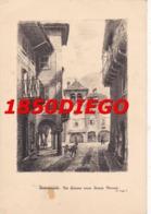DOMODOSSOLA - VIA GIAVINA VERSO PIAZZA MERCATO F/GRANDE VIAGGIATA 1947 ANIMATA - Verbania