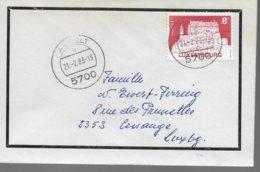 LUXEMBOURG  Lettre  1983   Vianden - Christendom
