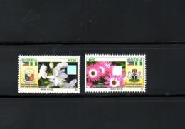 NIGERIA- PHILIPPINES, 2013,  FLOWERS, 2v. MNH, Scott $?? - Flora
