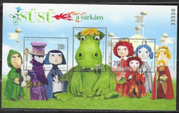 HUNGARY, 2019, MNH,FAIRY TALE CHARACTERS, SHEETLET - Fairy Tales, Popular Stories & Legends