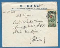 1940 HAITI PORT AU PRINCE TO ITALY - Haiti
