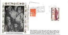 SECONDE GUERRE EXPOSITION DE COLOMBES A AUSCHWITZ - WW2