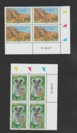 FRANCE / 2007 / Y&T SERVICE N° 138/139 ** : UNESCO (Ksar D'Aït-ben-Haddou & Koala) X 4 - Coins Datés 2007 06 01 - Servizio